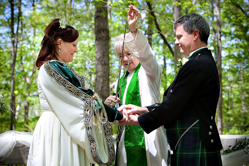 NC Triangle Weddings Blog: A Celtic Ceremony For Chris And Tim