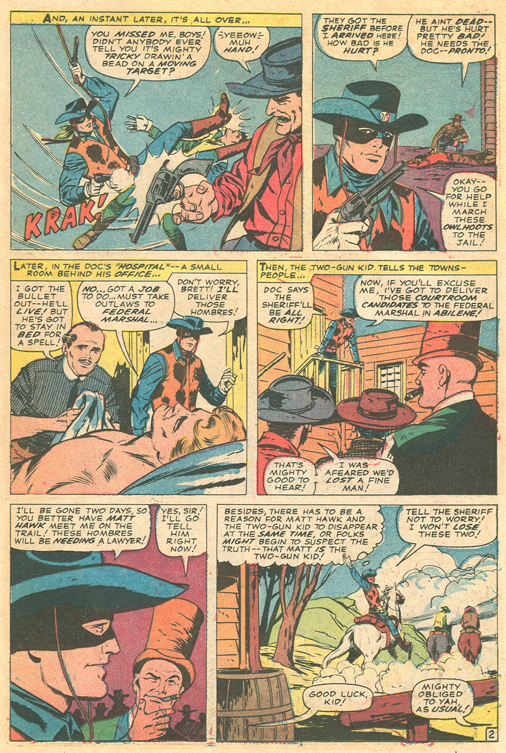 Read online Two-Gun Kid comic -  Issue #86 - 15