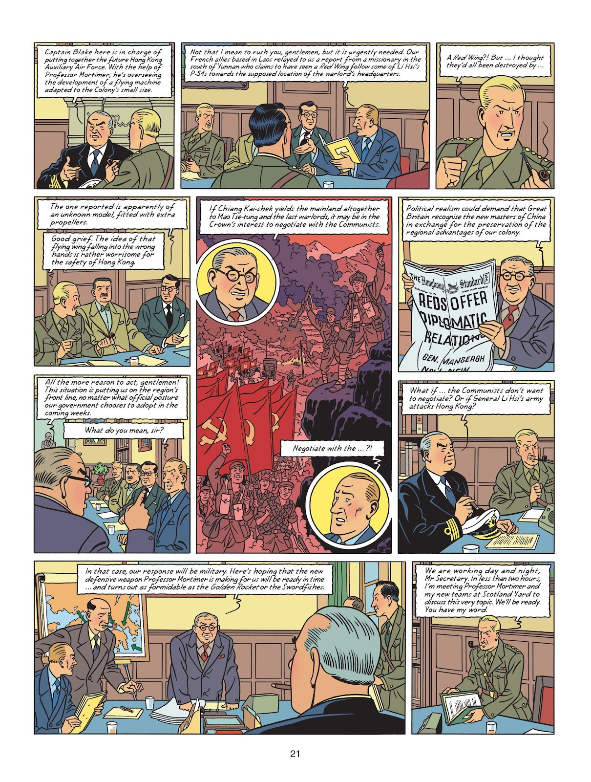 Read online Blake & Mortimer comic -  Issue #25 - 23