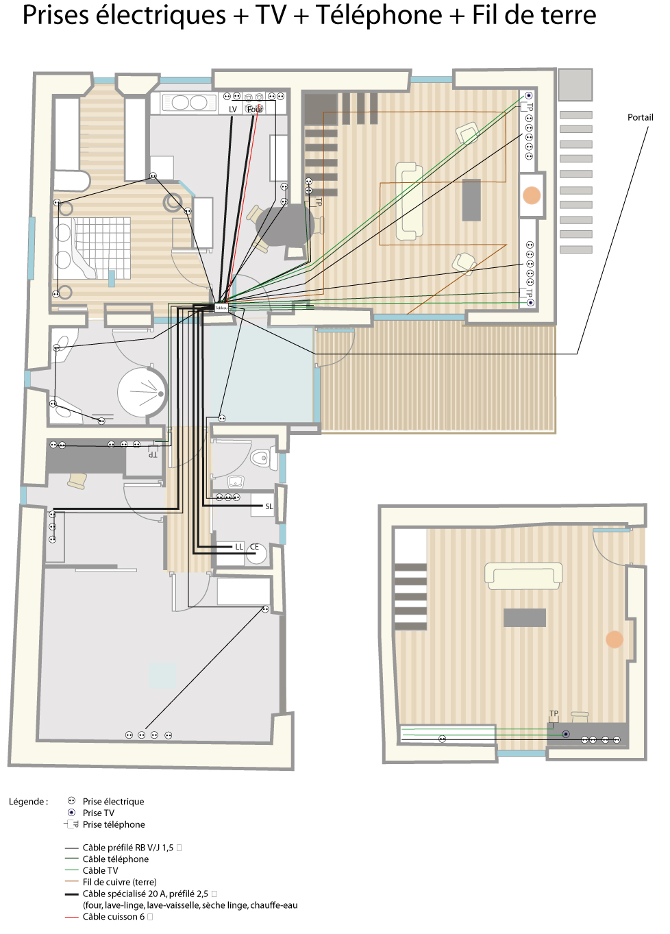 pz c plan maison. Black Bedroom Furniture Sets. Home Design Ideas