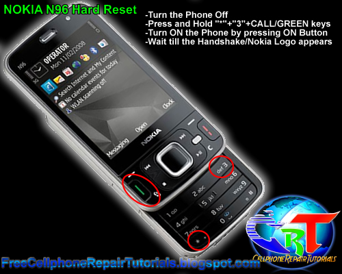 faecc43d3fd ... Array - nokia n82 n85 n86 8mp n95 n96 e71 e72 hard reset procedures rh  cellphonerepairtutorials