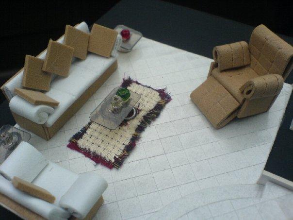 Diseo Arquitectnico Maquetas de muebles