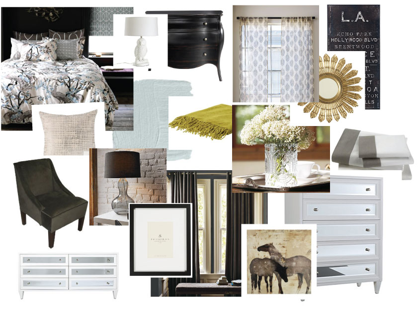 Falls Design Inspiration Board Bridget S Bedroom