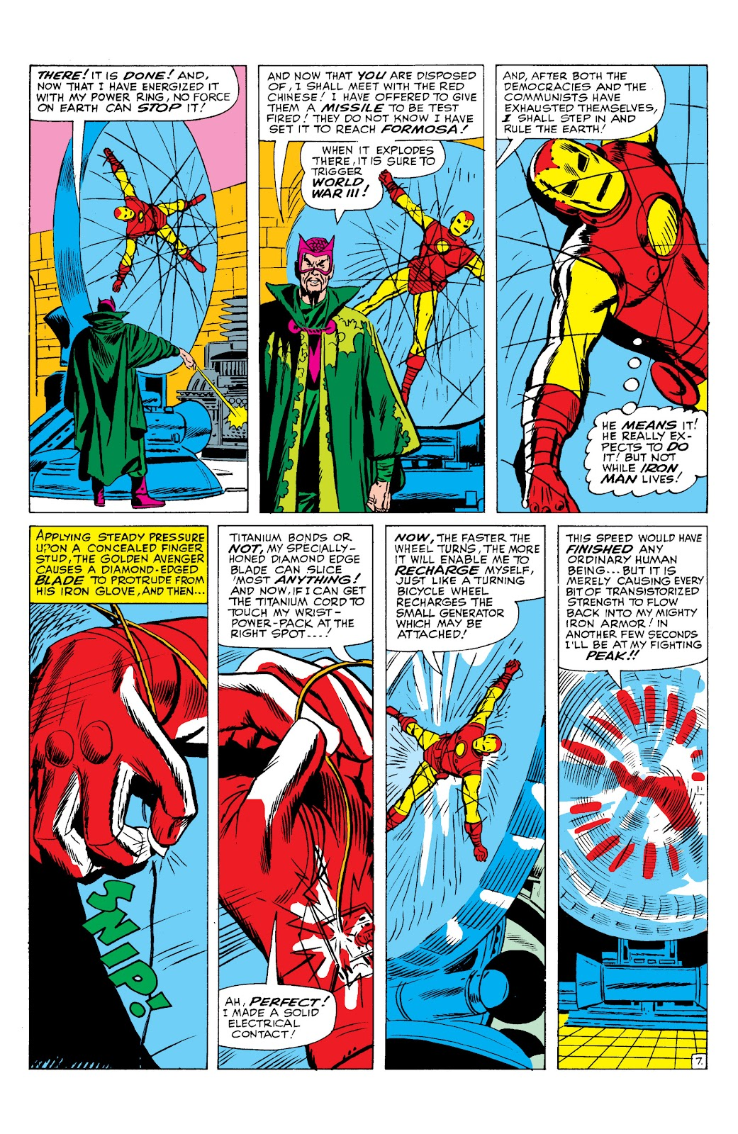 Read online Marvel Masterworks: The Invincible Iron Man comic -  Issue # TPB 2 (Part 2) - 93