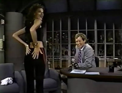 Sandra Bernhard  Late Night with David Letterman 1985