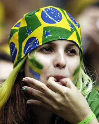 Advise you Beautiful soccer fan brazil sorry, does