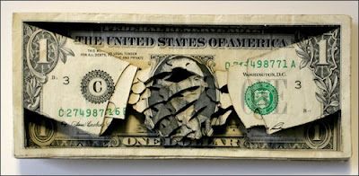 Something Amazing Incredible One Dollar Paper Carving Art