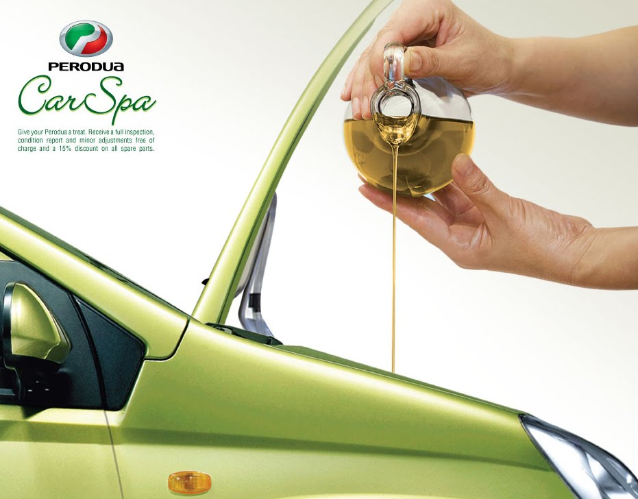 Hartandart: Perodua Car Spa Ad 2