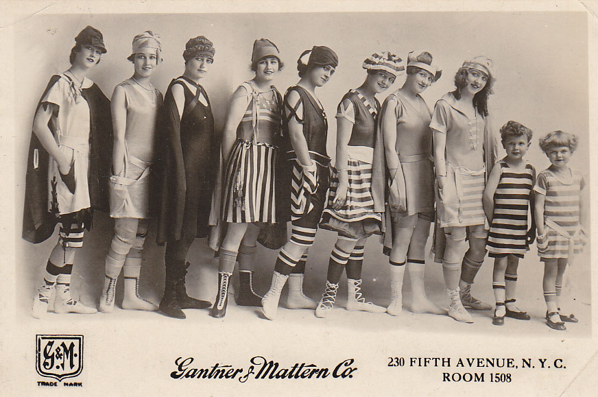 The Bancroft Survey Project Bathing Suit Season In The 1900S-1863