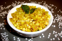 images for Sabudana Khichdi / Sago Khichdi Recipe/ Vrat recipe