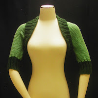 Bolero Jacket in shades of green is on sale today!