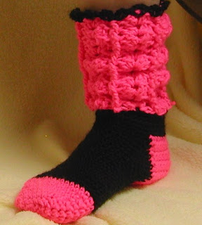 Don't these socks look warm and cozy? They could be your's you know...