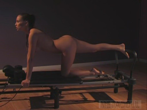 Sexy Nude Pilates Exercises Pictures