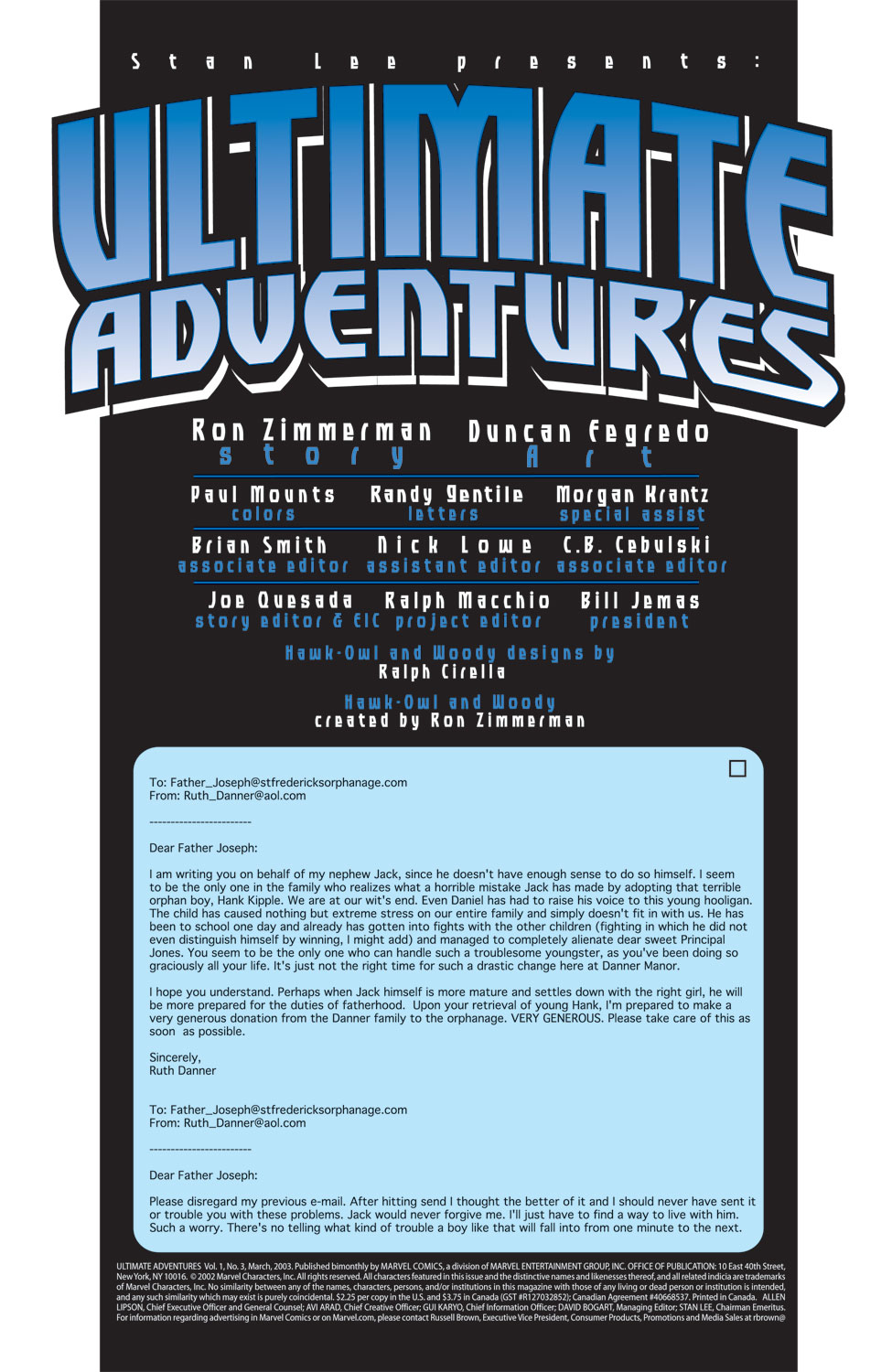 Read online Ultimate Adventures comic -  Issue #3 - 3