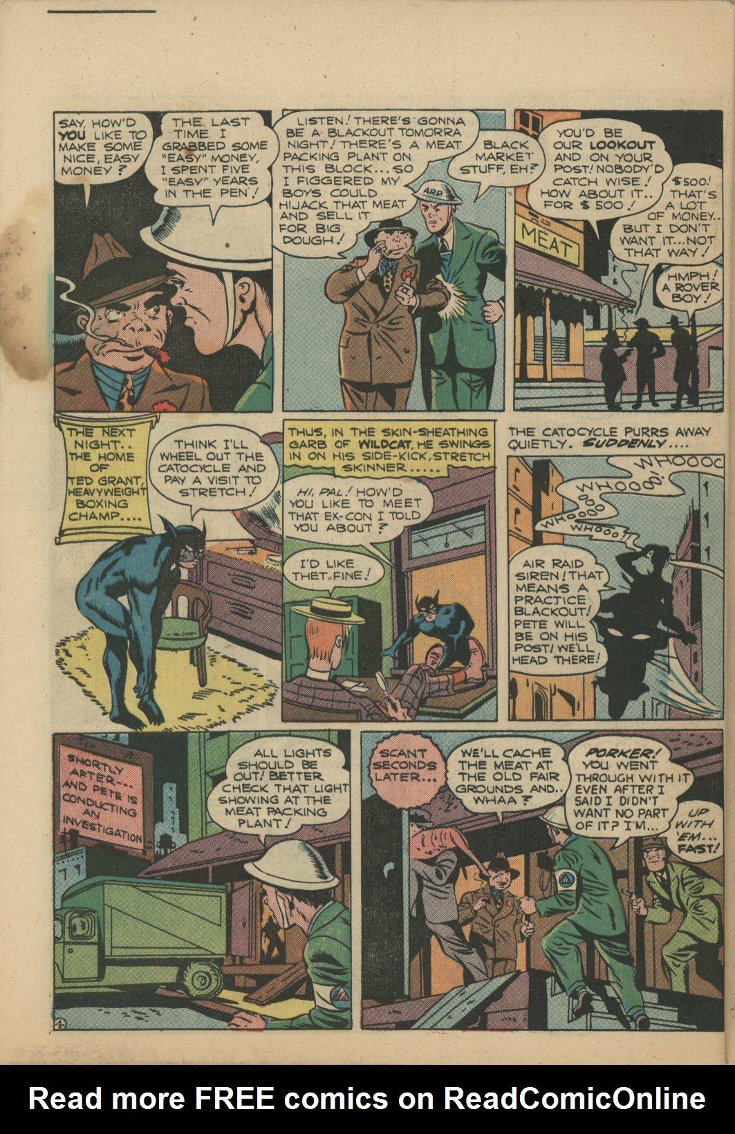Read online Sensation (Mystery) Comics comic -  Issue #21 - 50