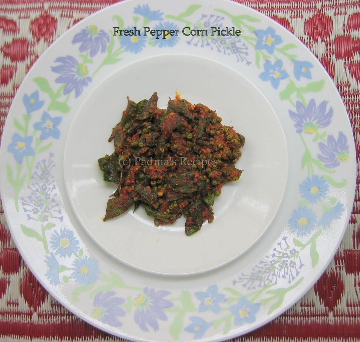 Pepper Corns Good In What Food