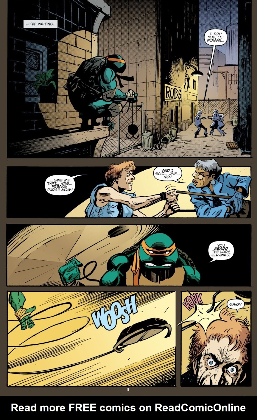 Read online Teenage Mutant Ninja Turtles: The IDW Collection comic -  Issue # TPB 7 (Part 1) - 17