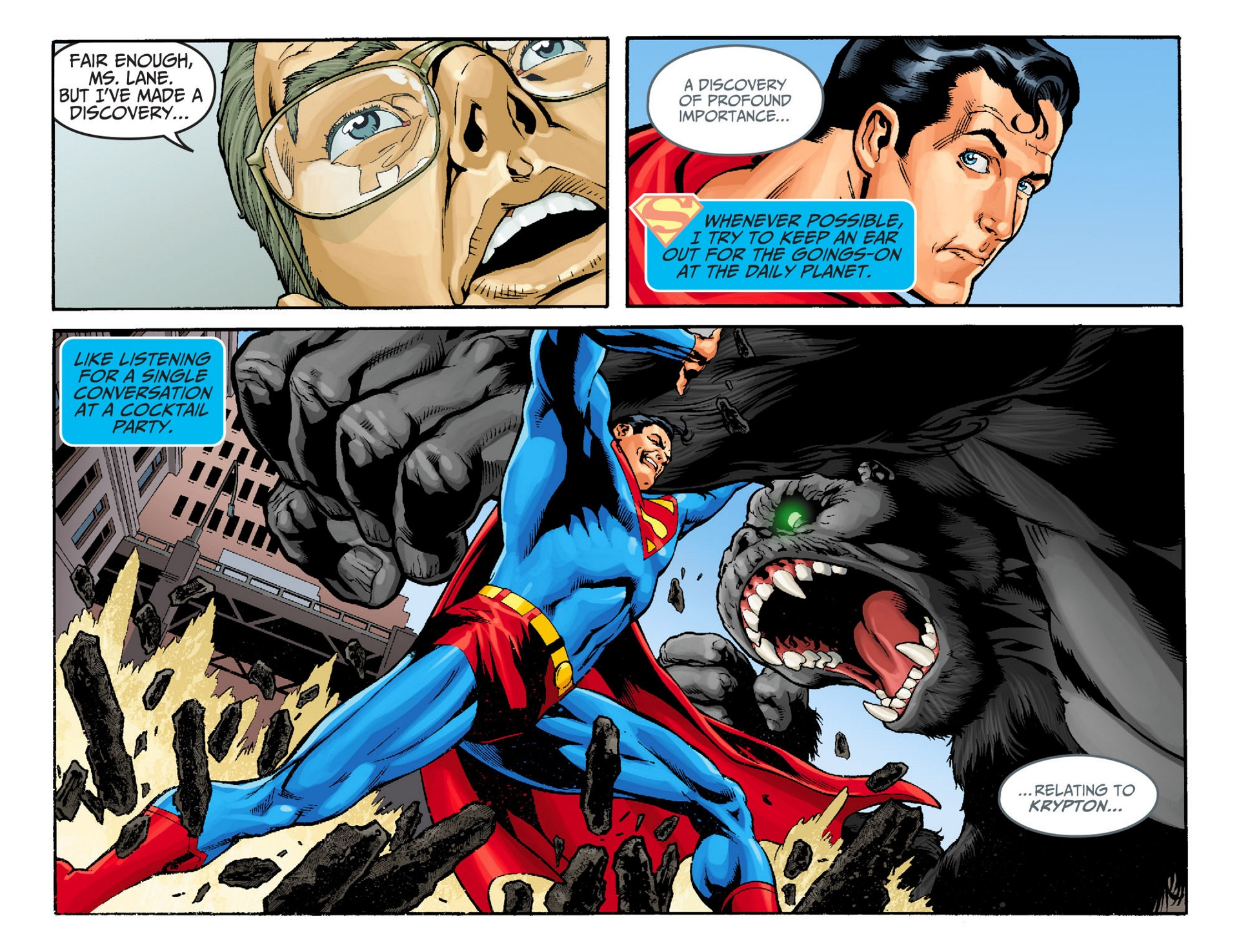 Read online Adventures of Superman [I] comic -  Issue #22 - 7