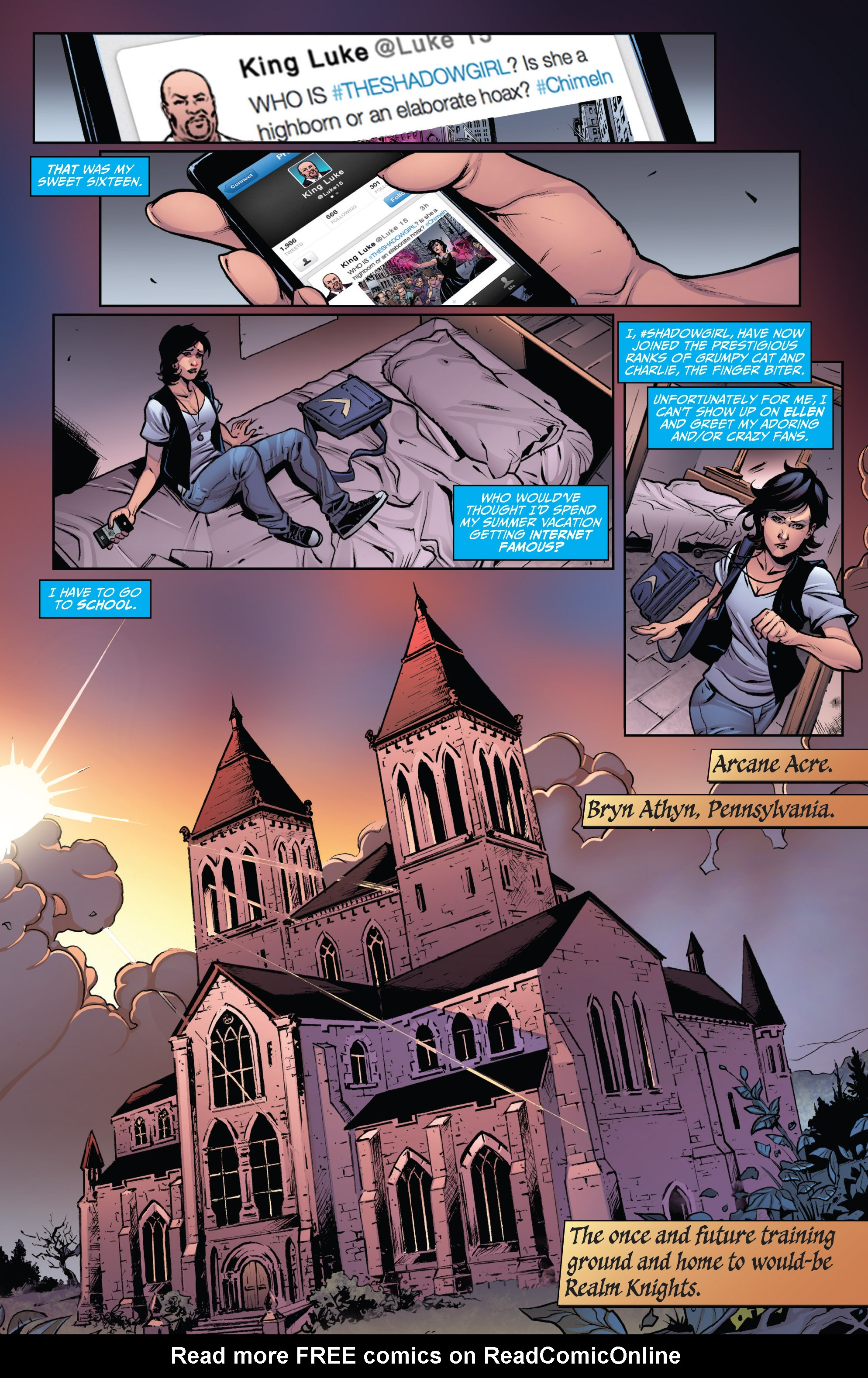 Read online Grimm Fairy Tales: Arcane Acre comic -  Issue # TPB 3 - 8
