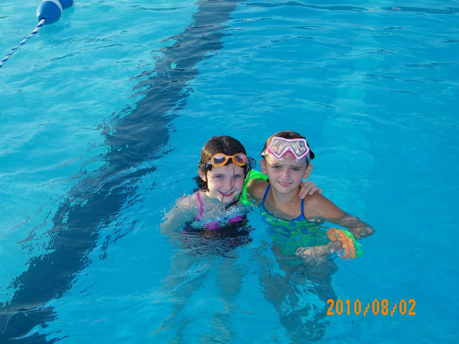 Girl Scout Troop 6343 Pool Party-8863