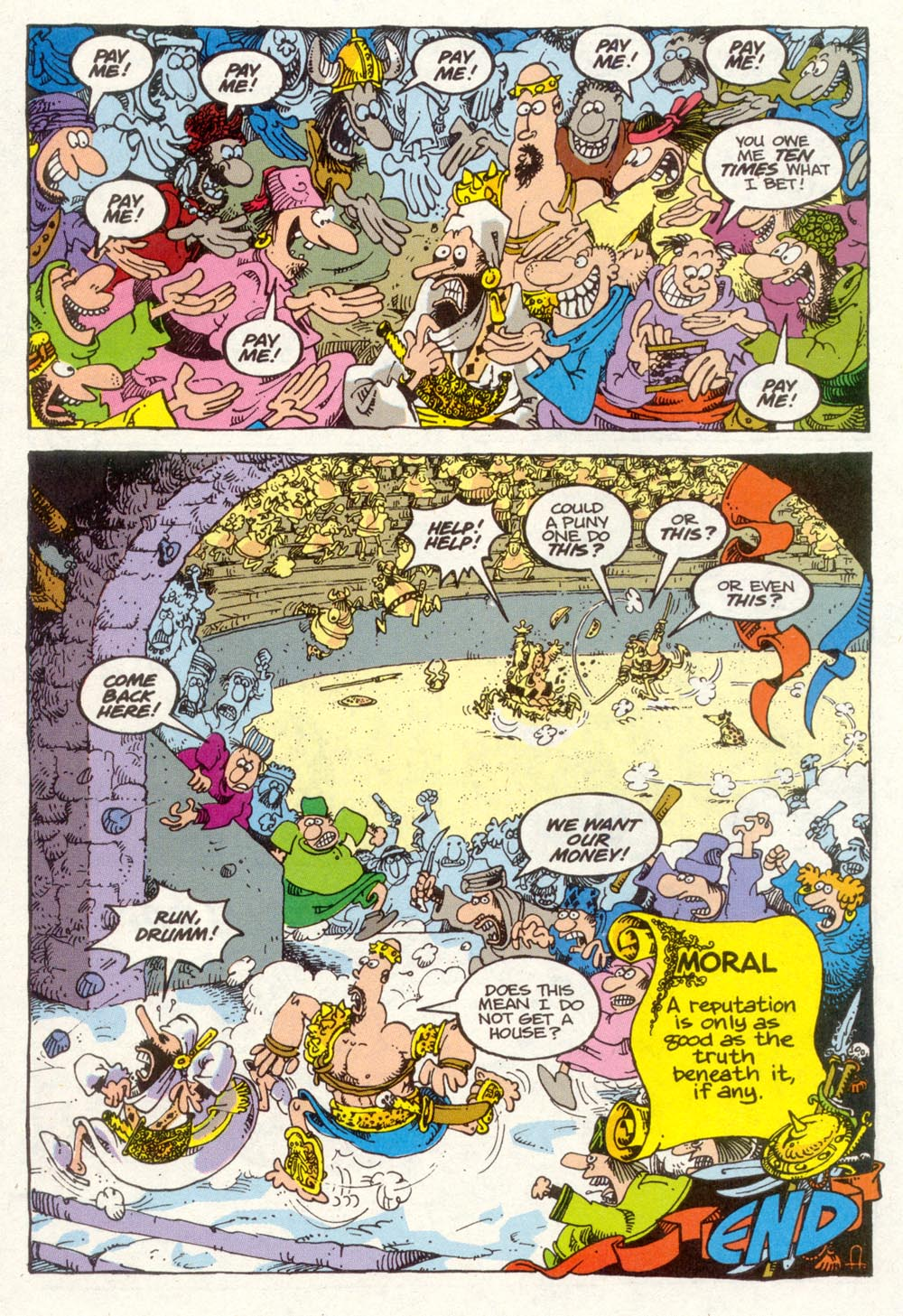 Read online Sergio Aragonés Groo the Wanderer comic -  Issue #91 - 25