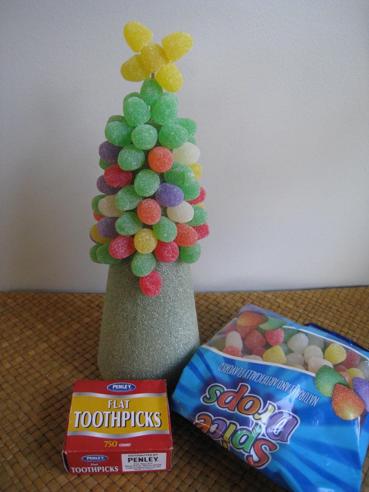 Toothpick Christmas Tree