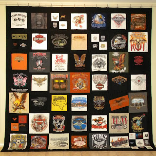 Centex Quilting Company Harley Davidson Quilt