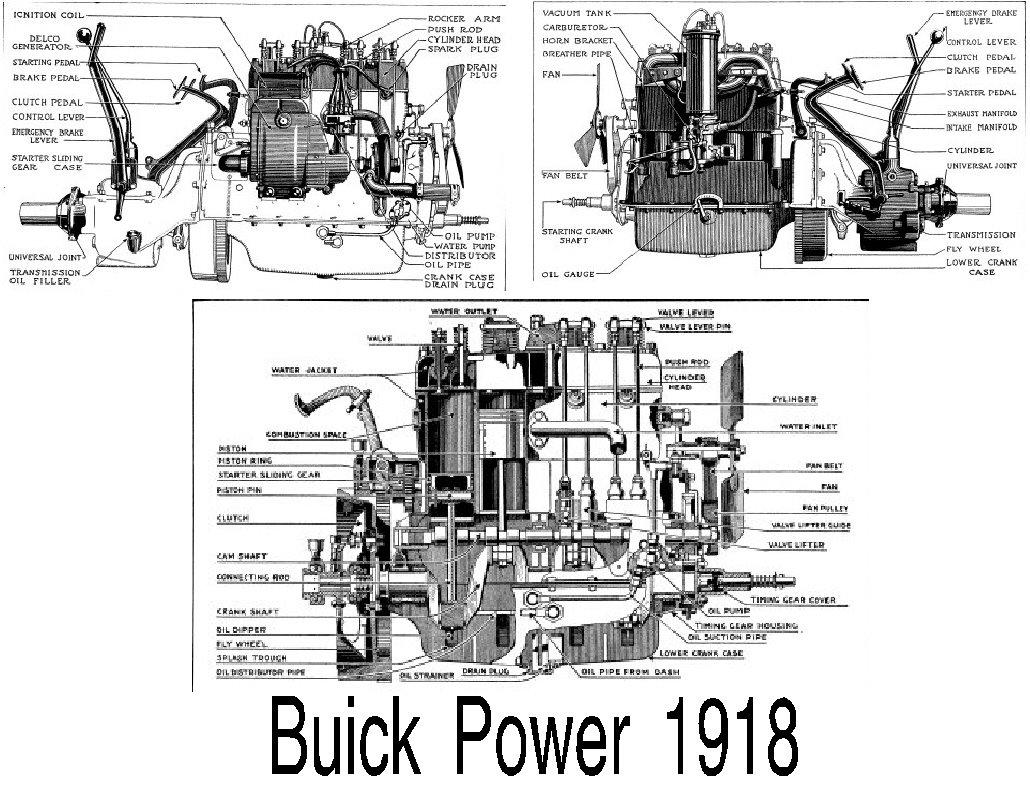 Old V8 Engine