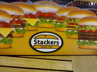 Stackers Burger Cafe, Eastwood City,
