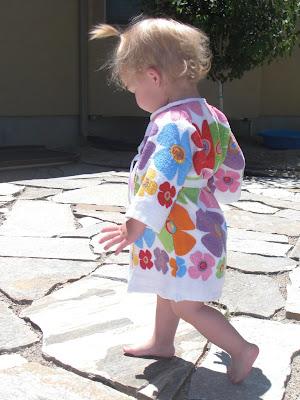 toddler dish towel bathrobe !  c981b7896