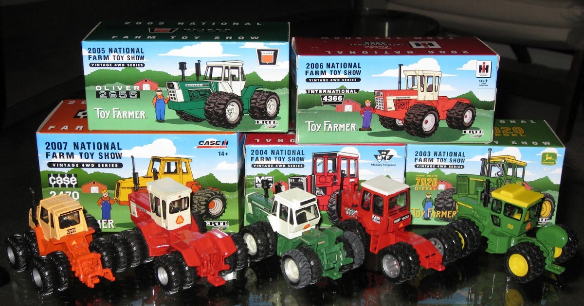 Zac S Tractors National Farm Toy Show Tractors
