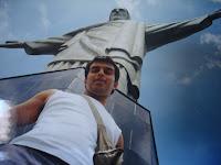 Mario Massaccesi En auto a Brasil