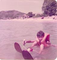 Pablo Palmeiro Praia Cachoeira en auto a brasil
