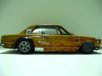 Scaled Ricers 1 24 Boro Nissan Skyline Kpgc10 Gtr By Fujimi