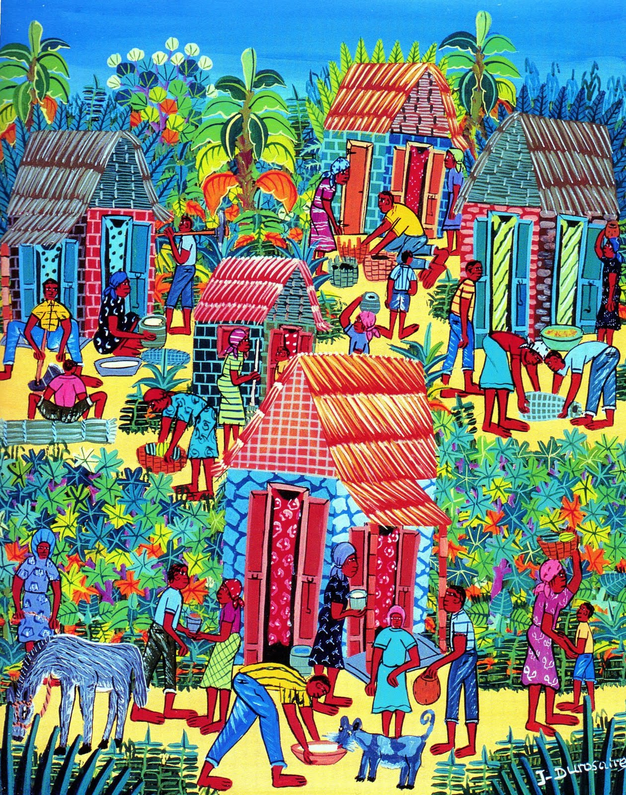 Cheryl Briard Illustrator: THE EXQUISITE ART OF HAITI