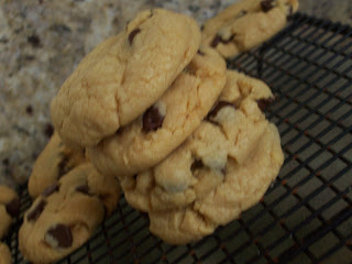 Cake mix cookies, yum! (This picture is from another blog, found on Google images.)