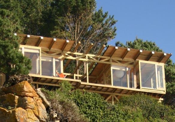 Proyectos de arquitectura casas en parcelas con desnivel for Casa minimalista veracruz