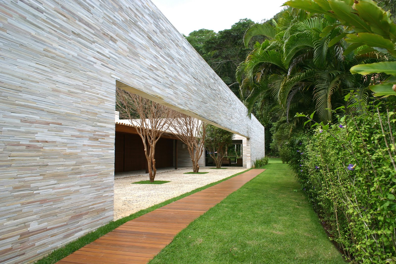 Arquitectura arquidea casa du plessis por mk27 for Cubiertas para casas campestres
