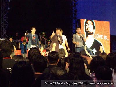 Pertama Kali ke Army Of God