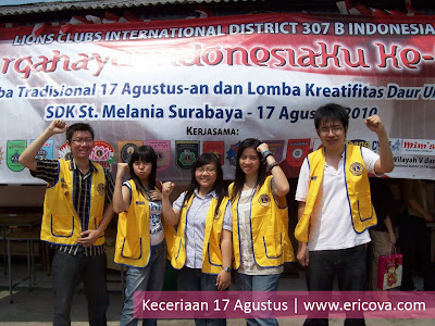 Agustusan bersama SDK Melania Surabaya