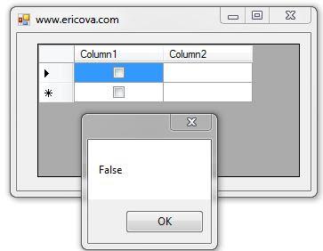 Masalah CheckBox Pada DataGridView
