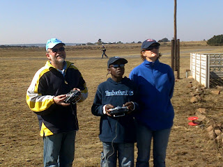 Herman, Tsepho, & Michelle at WHRF