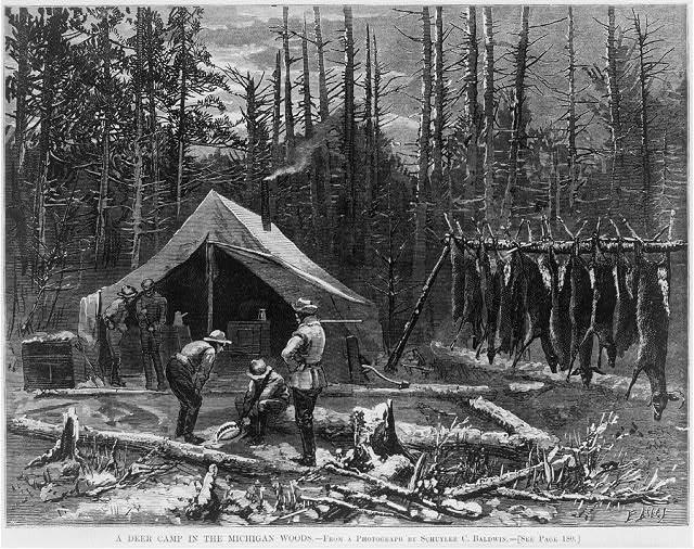 Deer camp (With images) Vintage deer