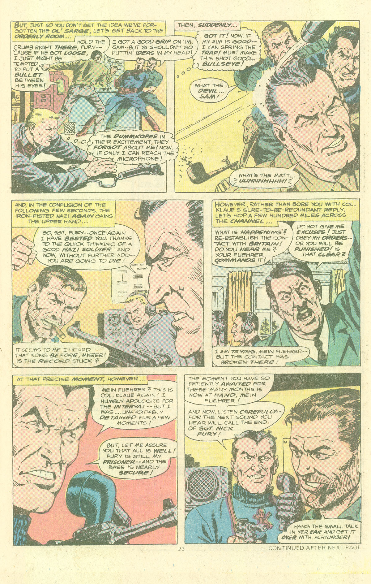 Read online Sgt. Fury comic -  Issue #143 - 25