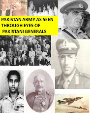 WHAT THE PAKISTAN ARMY GENERALS HAVE TO SAY ABOUT PAKISTAN ARMY