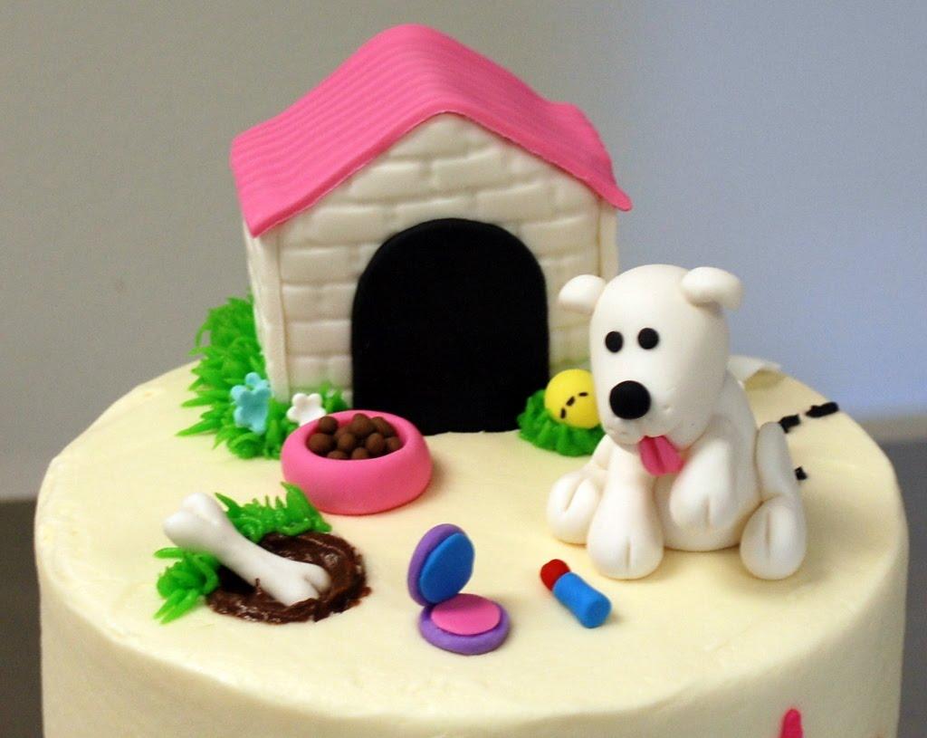 The Bakery Next Door Puppy Birthday Cake