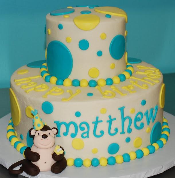 Bakery Door Mod Monkey Birthday Cake