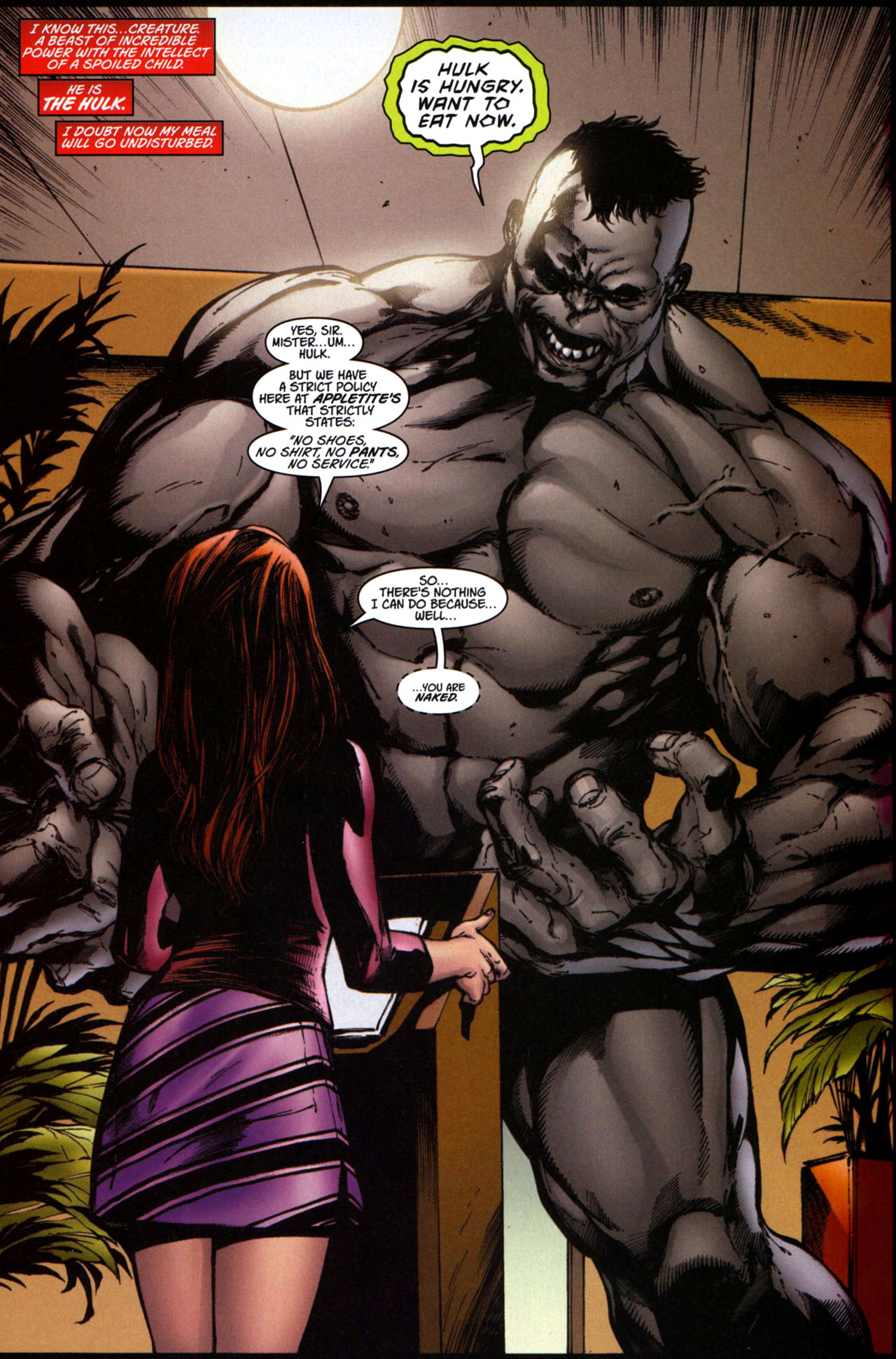 Read online Ultimate Hulk Annual comic -  Issue # Full - 13