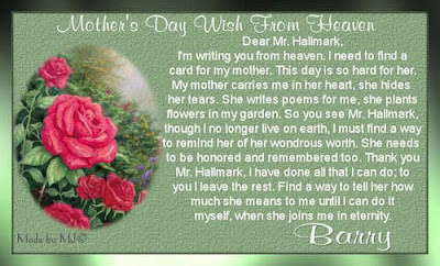 Online Mothers Day Poem