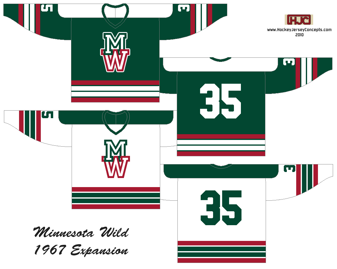 The first entry I am posting for the Est. 1967 contest comes from Ryan at  Hockey Jersey Concepts. His design uses red 52501b9d0